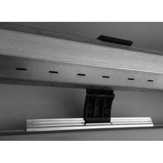 porte de garage enroulable alu blanc l3m x lame de. Black Bedroom Furniture Sets. Home Design Ideas
