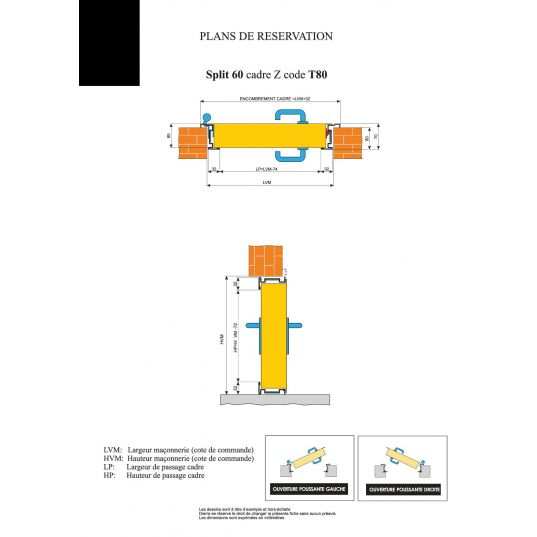 Porte Métallique Industrielle Coupe Feu 1H L1000xH2150