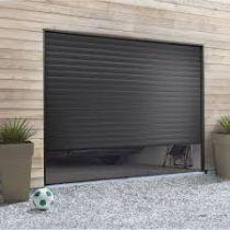 Porte De Garage Enroulable Alu GRIS RAL7016 L3m x H3m