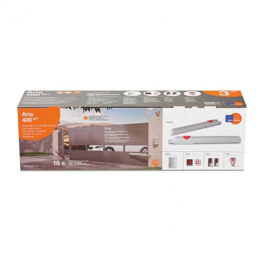 Kit Motorisation de Portail à Vérins NICE HOME aria 400