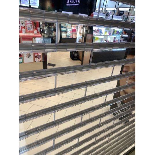 Rideau transparent L3.5mxH3m