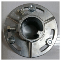 Accouplement réglable pour axe Ø 40 mm avec clavette Hormann