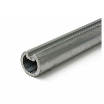 Arbre creux diamètre 35mm  Crawford avec rainure longueur 4000 mm
