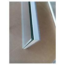 Bloc vitre Polycarbonate opaque + verre feuilleté transparent MPM