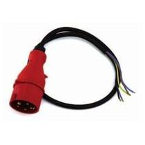 Câble alimentation Triphasé avec prise 4 pôles pour GTQ300