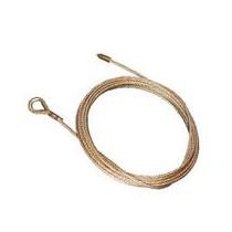 Câble INOX  Ø 4 longueur 12 mètres avec boucle avec cosse coeur et manchon