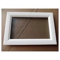Cadre extérieur blanc 511 x 324 mm - bande de 58 mm MPM