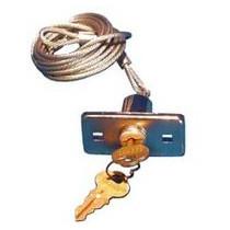 Déverrouillage extérieur avec 2 clés LIFTMASTER