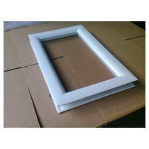 Hublot 511 x 321 mm blanc 2 vitres transparentes IMEPSA