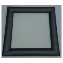 Hublot Carré RAL7016 300x300 mm 2 vitres transparentes