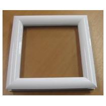 Hublot PVC carré 300 x 300 -  2 faces blanches - 2 vitres transparentes IMEPSA