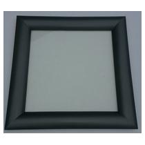 Hublot PVC carré 300 x 300 -1 face 7016 - 1 vitre ext sablée IMEPSA