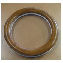 Hublot rond PVC 315 mm - Chêne clair - 2 vitres transparentes IMEPSA