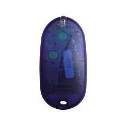 Émetteur bicanal avec dip-switch, à porte-clés.