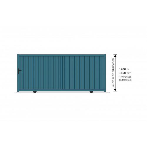 portail alu coulissant 3mx1 6m la boutique du portail. Black Bedroom Furniture Sets. Home Design Ideas