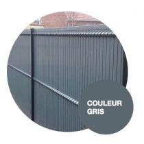 Kit Occultant pour panneau Clôture grillage rigide L2500 x H1030 Gris RAL 7016