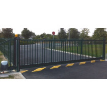 Portail industriel coulissant autoportant 6mx1.5m manuel